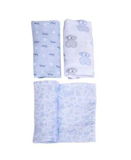 Set Mini Gasas Bebe BABY TOUS Azul