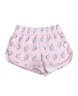 Short Niña BABY TOUS Playa Ice Cream Rosa