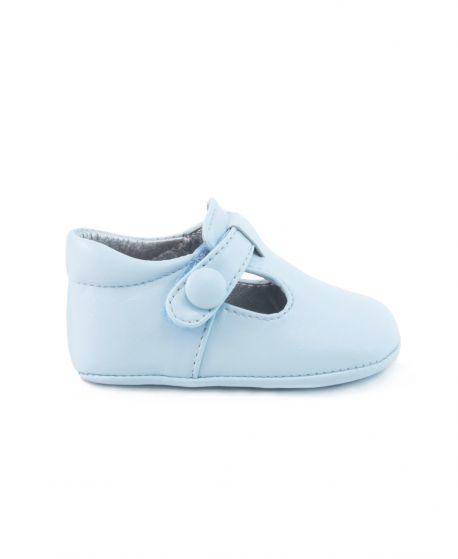 Badana Bebe ELI Azul Velcro