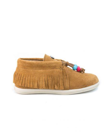 Zapatos Niño DOLFIE Camel Suede