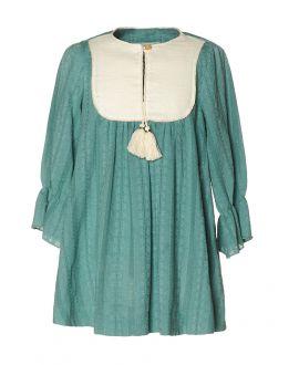 Vestido Algodón Verde NANOS Niña