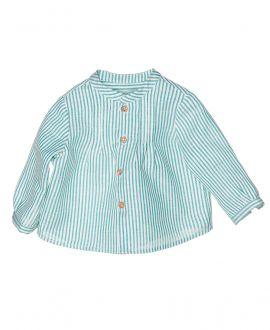 Camisa Lino Verde NANOS Bebe Niño