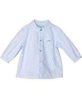Camisa Popelin Celeste NANOS Bebe