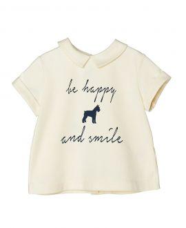 Camiseta Punto Beige NANOS Bebe Dog