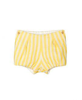 Ranita Algodon amarillo NANOS Bebe Rayas