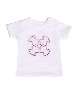 Camiseta Bebe Niña BABY TOUS Swim Mossaico Rosa