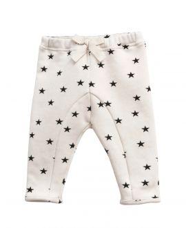 Pantalon Felpa Crudo NANOS Bebe Estrellas