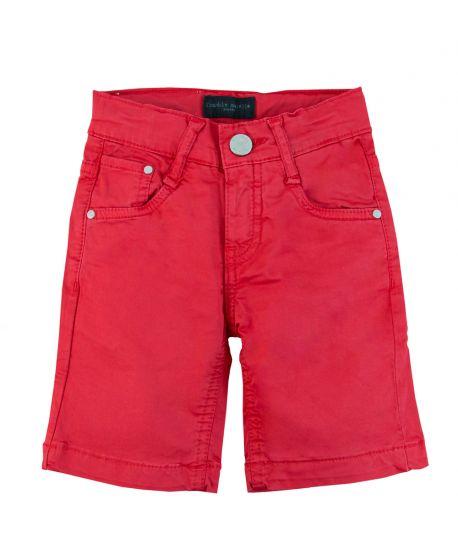 Pantalon Corto Niño FRANKIE MORELLO Rojo