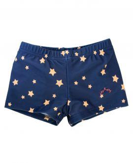 Bóxer Lycra Marino NANOS Niño Estrellas