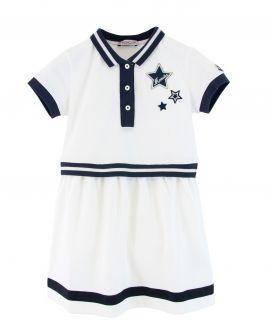 Vestido Niña MONCLER Blanco Estrellas