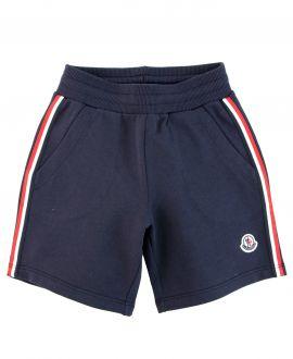 Pantalon Corto Niño MONCLER Sport Marino
