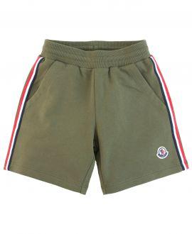 Pantalon Corto Niño MONCLER Sport Verde