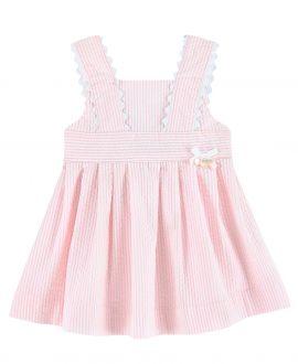 Vestido Bebe Niña TARTINE ET CHOCOLAT Rosa Rayas