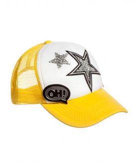 Gorra Niña SO TWEE Amarilla Estrellas