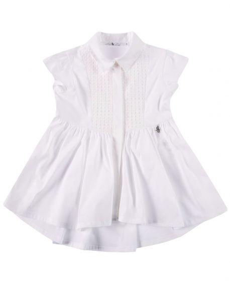 Camisa Niña L:U L:U Blanca Sin Mangas