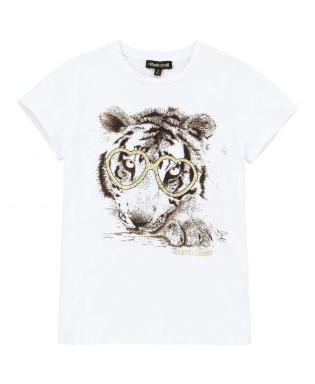 Camiseta Niña Roberto Cavalli Junior