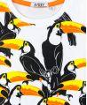 Camiseta Niño AYGEY Blanca Tucanes