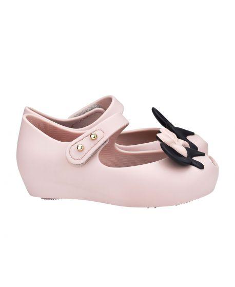 Zapato Mini Melissa Niña Rosa Claro Mickey