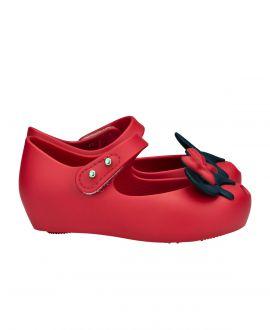Zapato Mini Melissa Niña Rosa Rojo Mickey