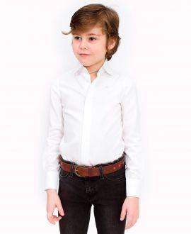 Camisa Niño CASILDA Y JIMENA Saste Oxford Blanco