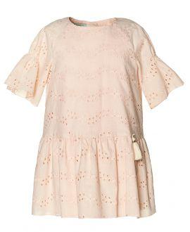 Vestido Bordado Rosa NANO Niña