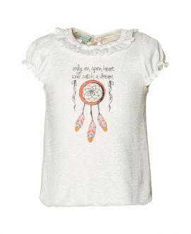 Camiseta Algodón Crudo NANOS Niña Atrapasueños