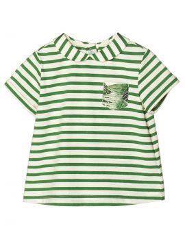 Camiseta Punto Verde NANOS Bebe Niño Bolsillo