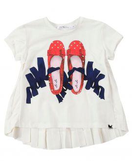 Camiseta Niña TARTINE ET CHOCOLAT Bailarinas