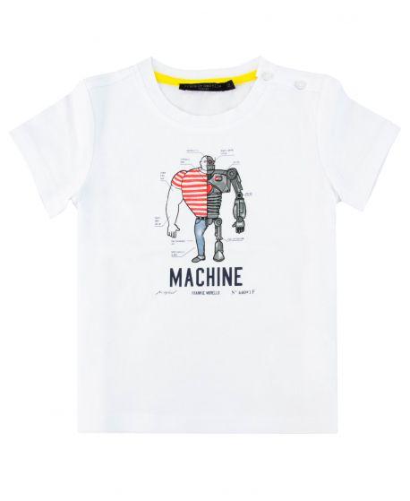 Camiseta Bebe Niño FRANKIE MORELLO Machine