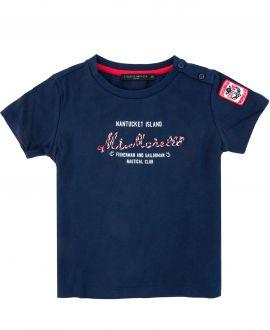 Camiseta Bebe Niño FRANKIE MORELLO Marino