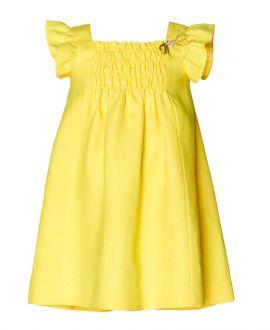 Vestido Lino Amarillo NANOS Niña