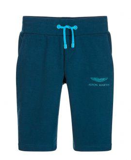 Pantalon Corto Niño ASTON MARTIN Azul Oscuro Cordones