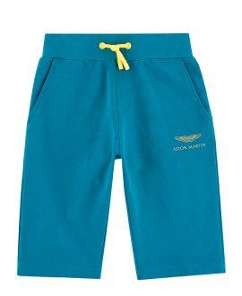 Pantalon Corto Niño ASTON MARTIN Azul Cordones