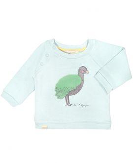 Jersey Bebe Niño BONNET A POMPON Verde Avestruz
