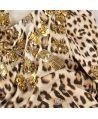 Vestido dorado Niña Roberto Cavalli Kids