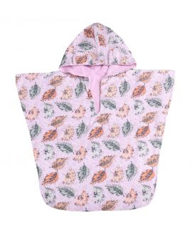 Poncho Toalla Playa BABY TOUS Leaf Rosa