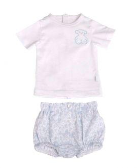 Pijama Dos Piezas Bebe BABY TOUS Kaos Azul