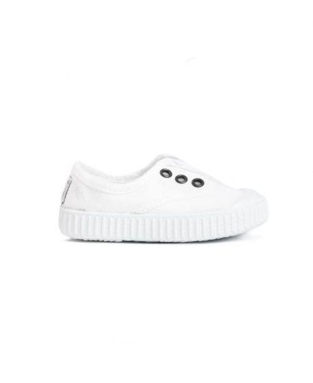 Zapatillas Victoria Niños Blanca