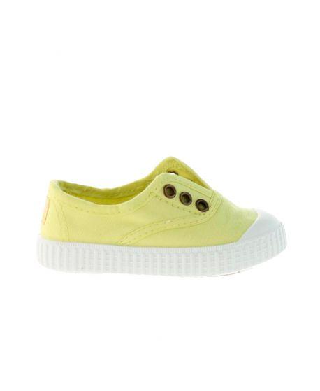 Zapatillas Victoria Niños Limón