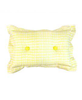 Cojin Infantil Solapa Estampado Amarillo RO INFANTIL