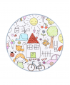 Mesa Infantil KARTELL Dibujos