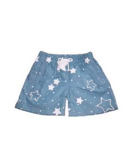 Bóxer Niño Baño AL AGUA PATOS Estrellas Azul