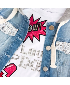 Conjunto Niña SO TWEE Love Pixel