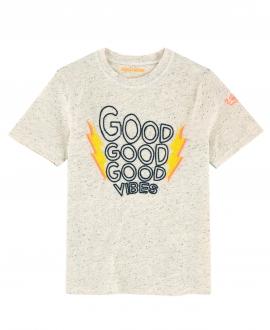 Camiseta Niño ZADIG&VOLTAIRE Gris Good Vibes