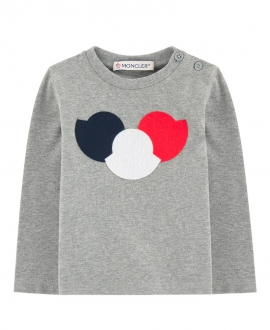Camiseta MONCLER Bebe Niño Triple Logo