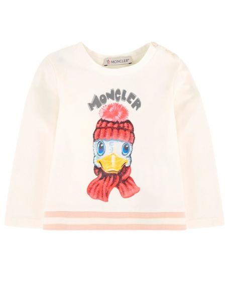 Camiseta MONCLER Bebe Niña Pato