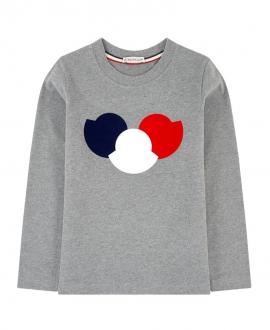 Camiseta MONCLER Niño Triple Logo