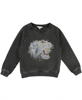 Jersey LITTLE MARC JACOBS Niño Negro Tigre