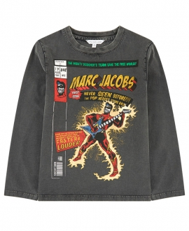 Camiseta Niño LITTLE MARC JACOBS Negra Guitar Hero