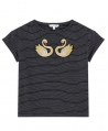Camiseta Niña LITTLE MARC JACOBS Cisnes Bordados